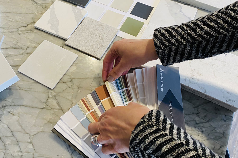 Dreamy Duos: Quartz + Paint = Perfect Color Pairings for Countertops & Cabinets