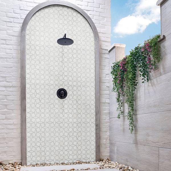 WaterJet Mosaic Tile Backsplashes
