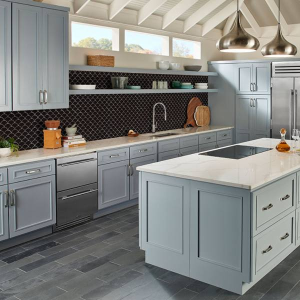 retro kitchen backsplash design