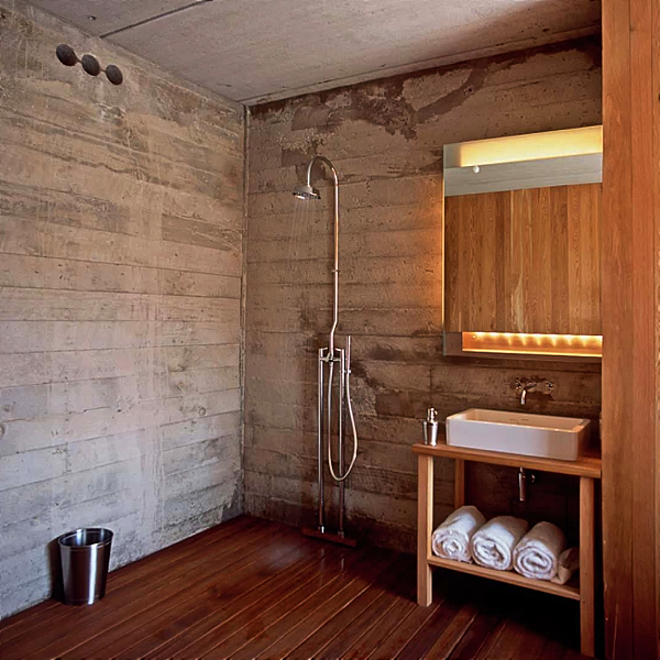 Luxury Vinyl Flooring For A Unique And Waterproof Shower Surround