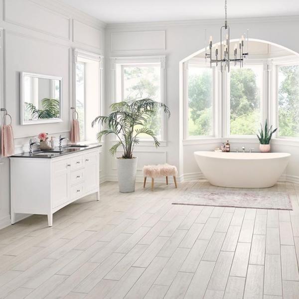 popular porcelain tile trends for bathrooms