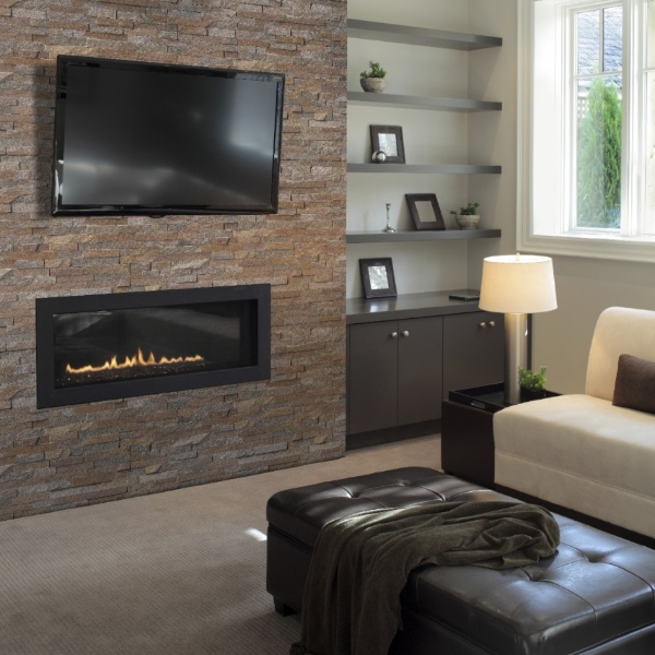stacked+stone+fireplace+and+tv+mount+in+cafe+color