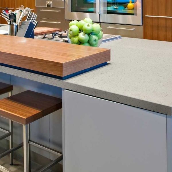 soapstone look kitchen quartz countertop