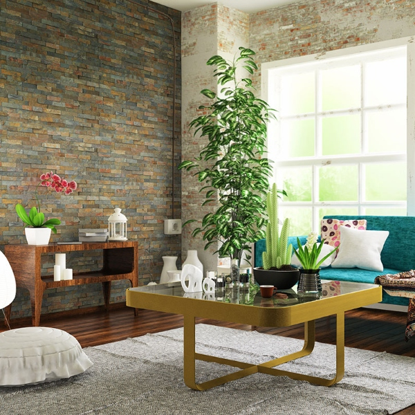 stacked-stone+natural+multi+rust+color+in+bright+living+room