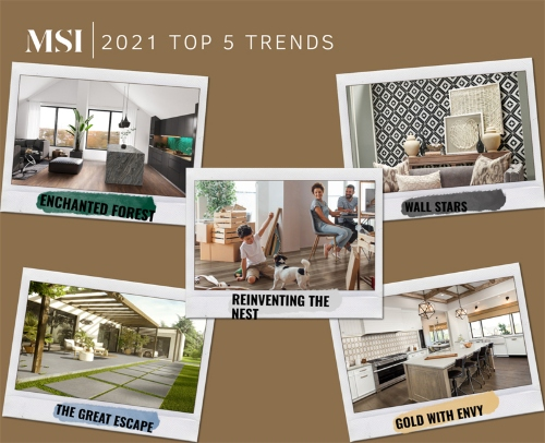 A First Look: Top 5 Design Trends of 2021