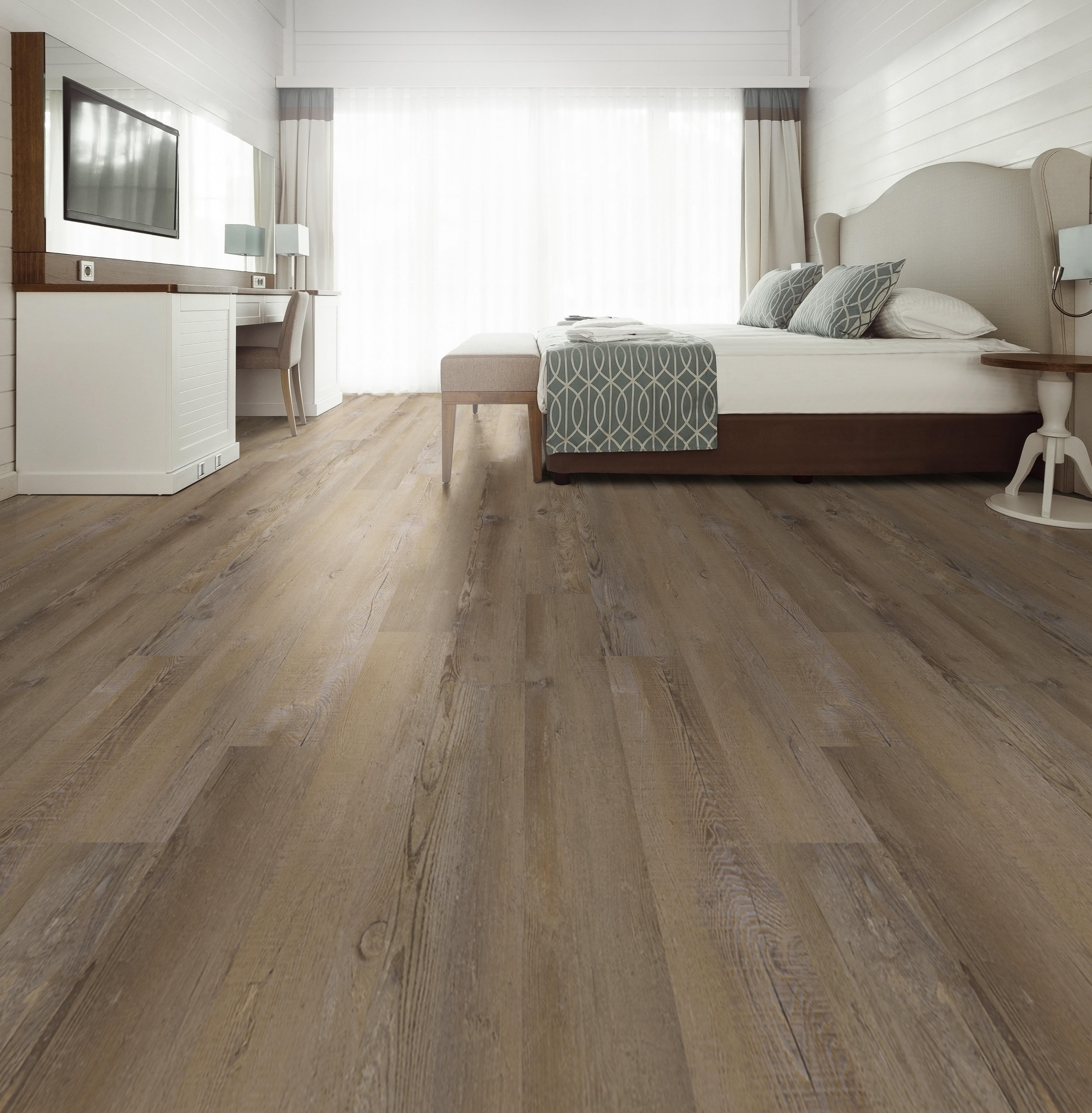 bedroom soft sable brown vinyl tile
