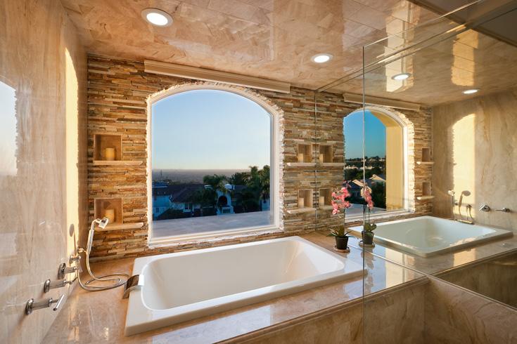 quartzite+bathroom