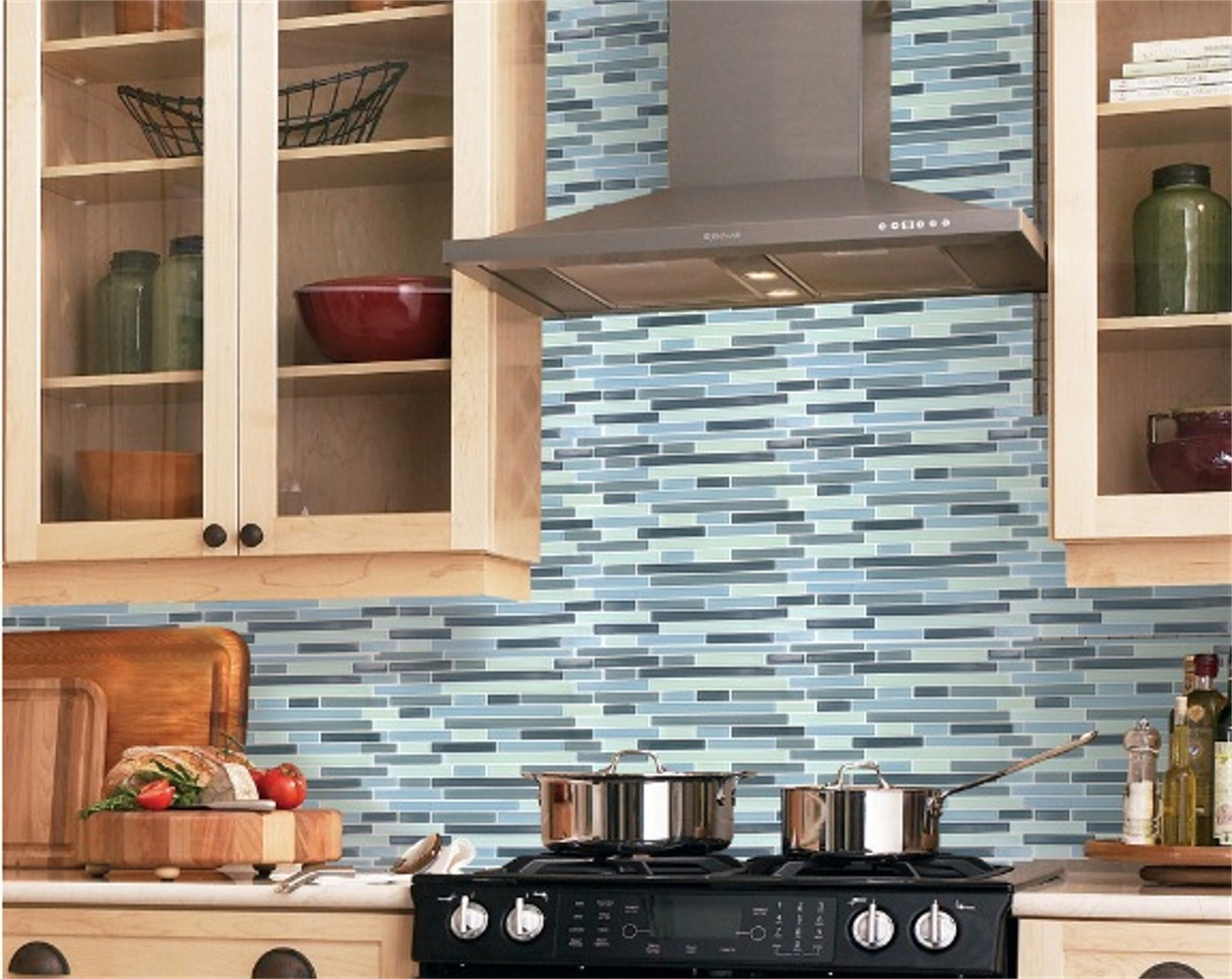 In The World Of Natural Stone Rectangular Ti