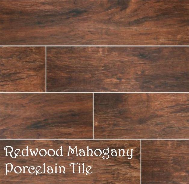 Redwood Mahogany Porcelain Tile