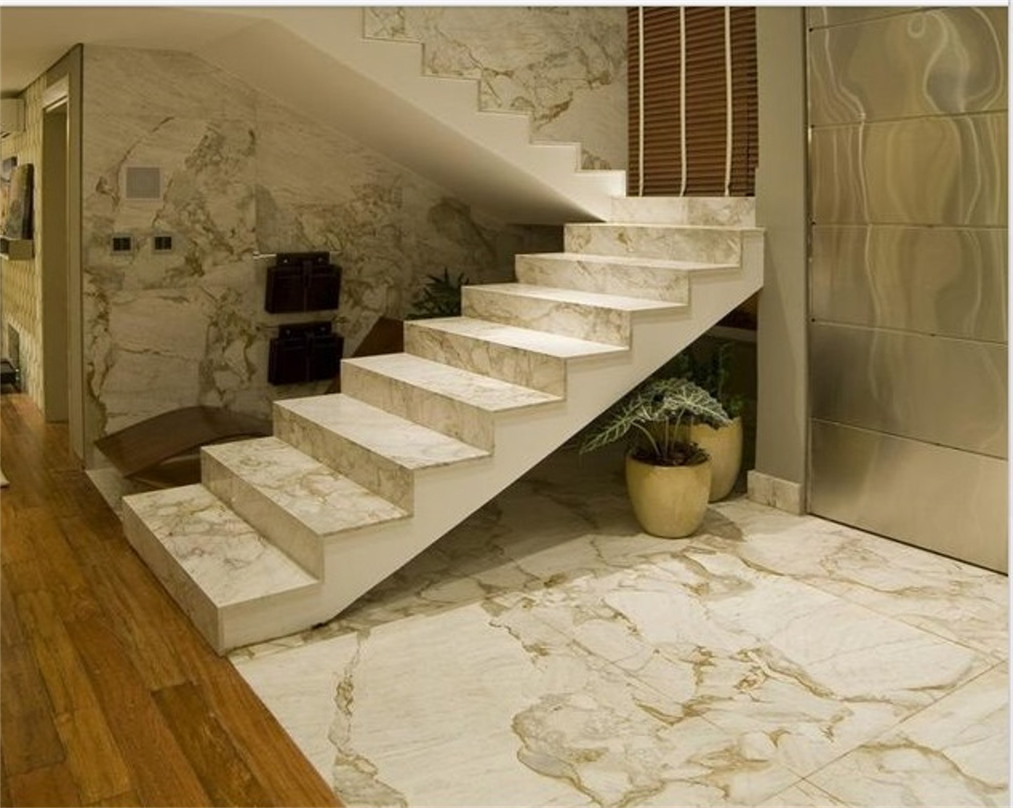 Aside From Its Elegant Beauty With Unique Veining And Color Options Hallmark Is An Imperviousness To Moisture Which Makes Marble Flooring