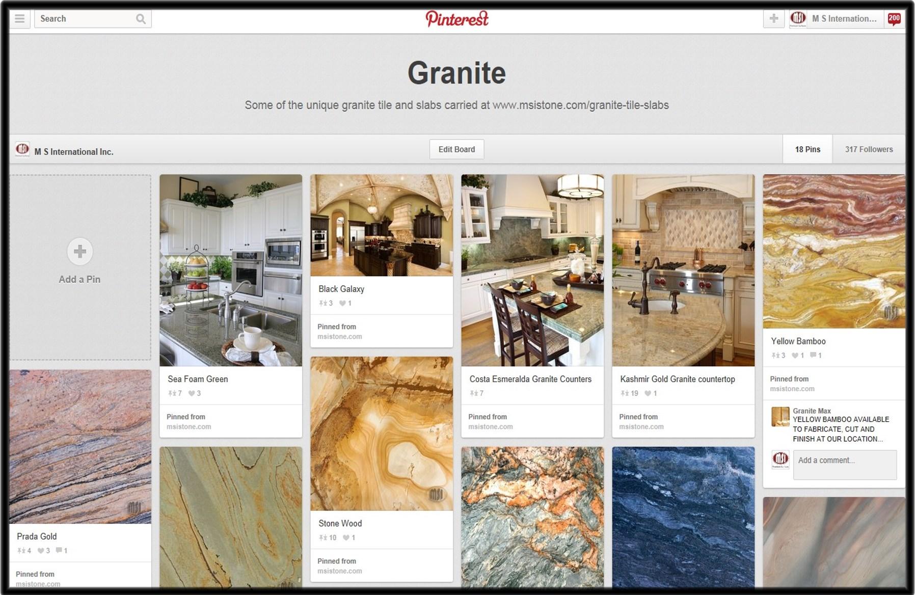 Granite-Pin