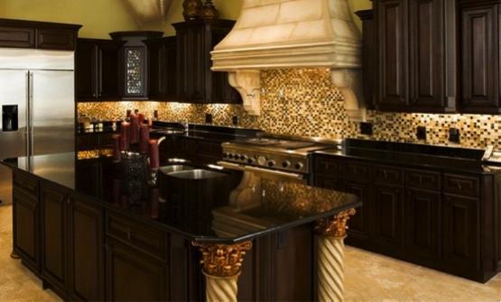 Dark Granite Countertops : Black Granite Countertops: The Royal Appeal