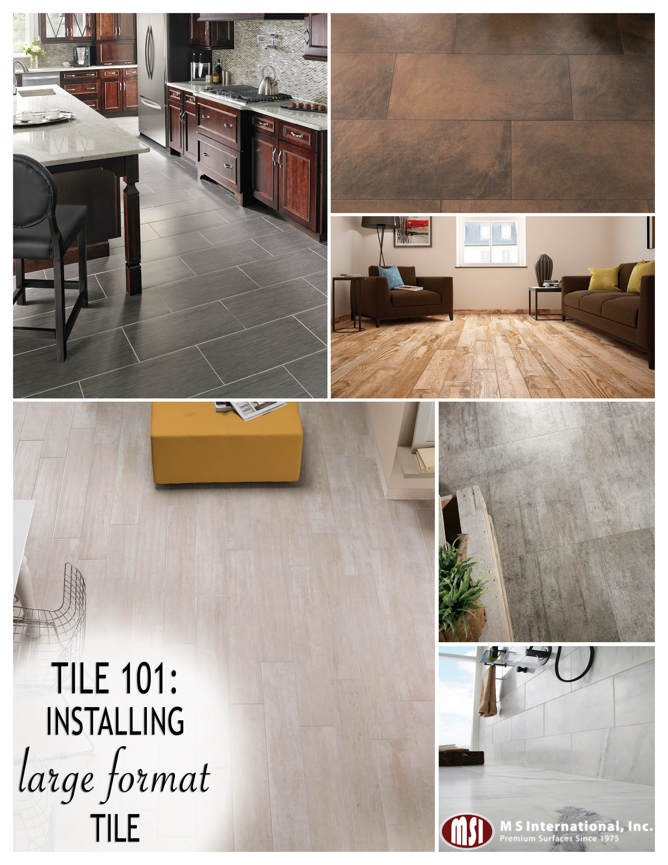 Well-known Tile 101: Installing Large Format Tile FA72