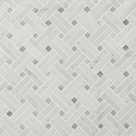 carrara-white-basketweave