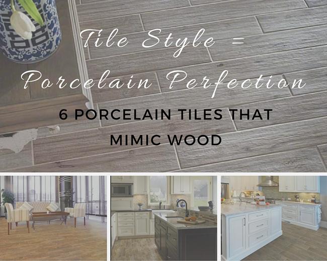 Tile Style = Porcelain Perfection: 6 Porcelain Tiles That Mimic Wood
