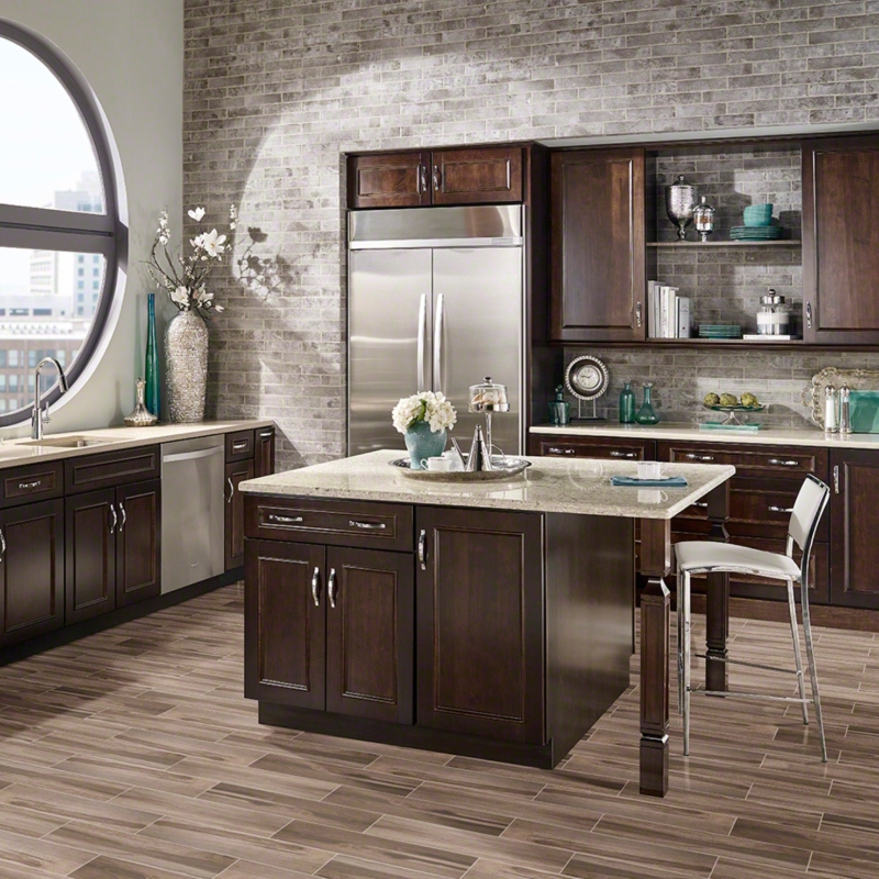 Tile Style: Wood You Believe This is Porcelain?