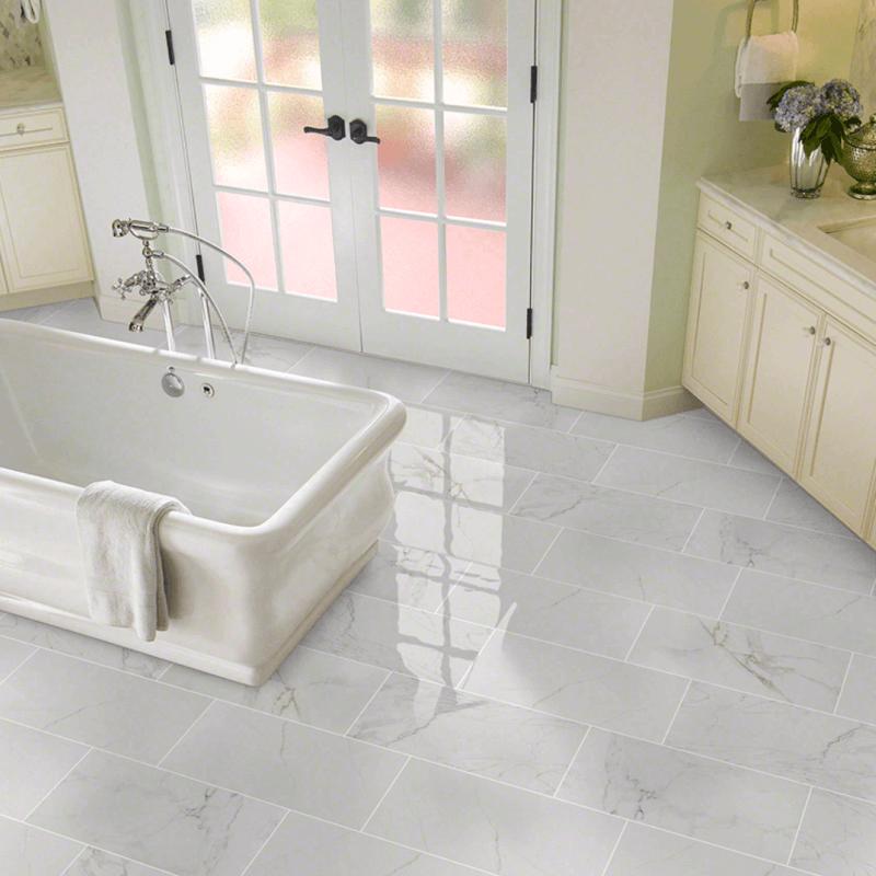 Excellent Double Take: 5 Porcelain Tiles You Won't Believe Aren't Marble SC61