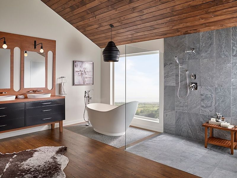 Ostrich-Grey-Quartzite Bathroom