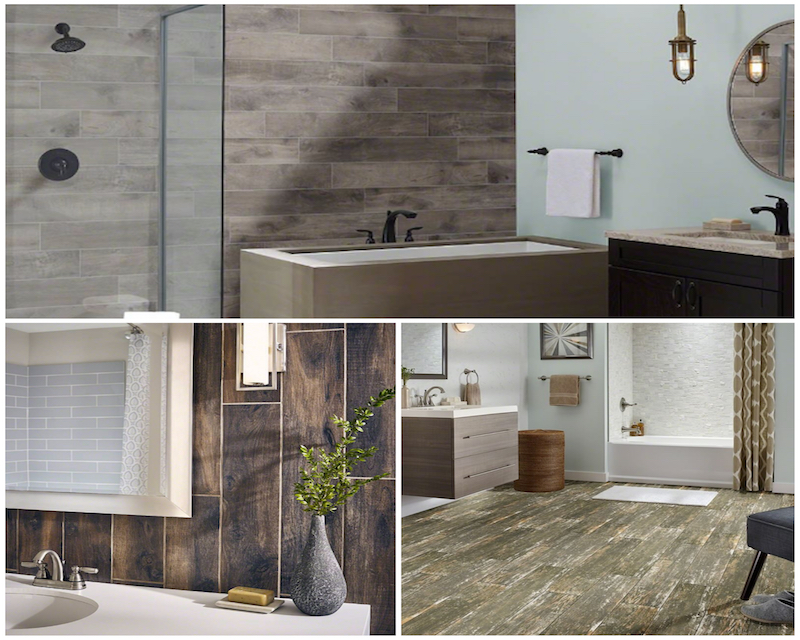 Tile Style: How To Nail the Wood Tile Look In the Bathroom