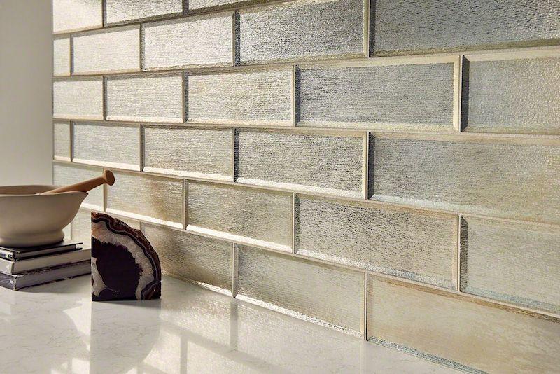 Silver Glisten-Glass-Subway-Tile