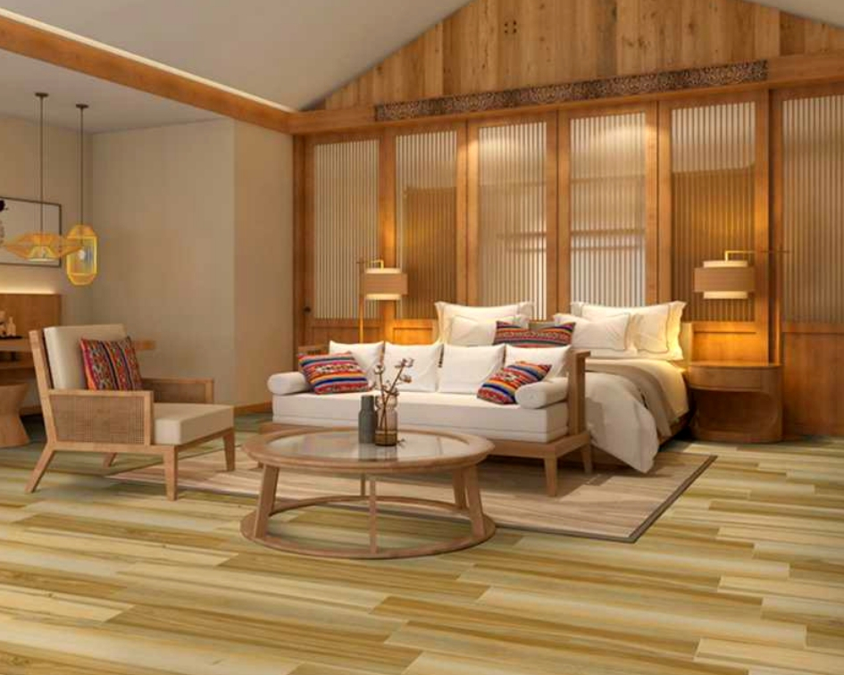 Laying-plank-wood