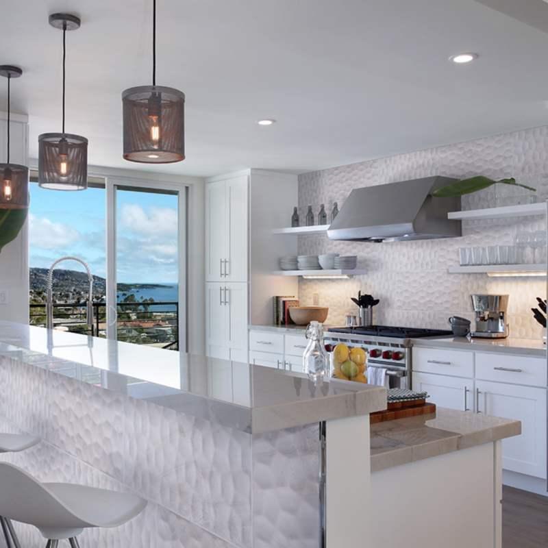 trendy 3d kitchen backsplash