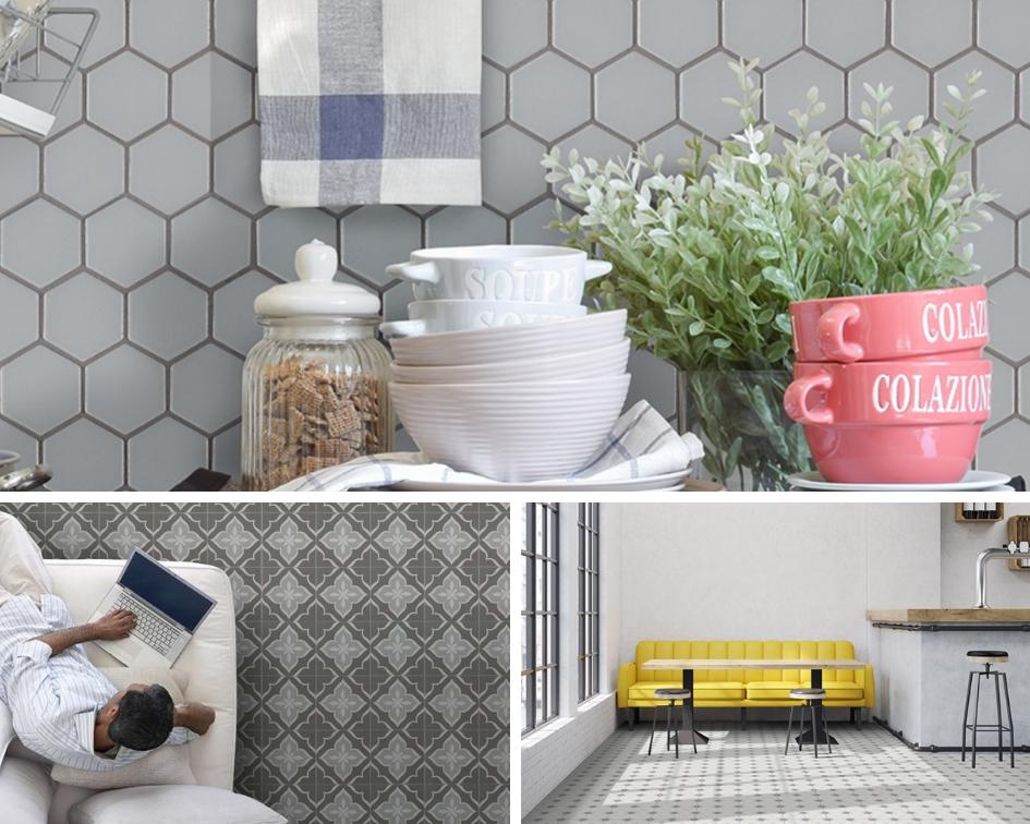 the versatility of porcelain tile