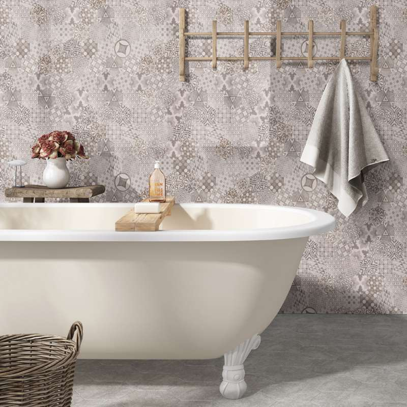 porcelain wall tile bathroom