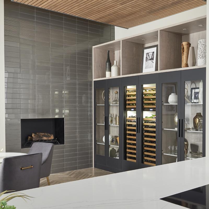 Gorgeous glass wall tile