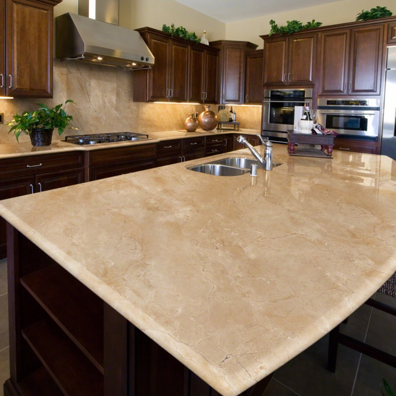 stunning marble look countertop