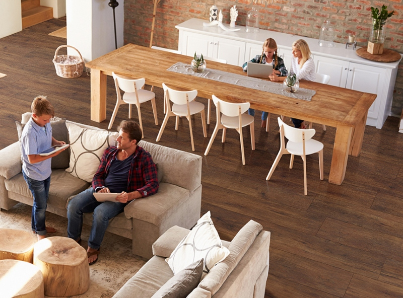 how does luxury vinyl flooring differ from standard vinyl