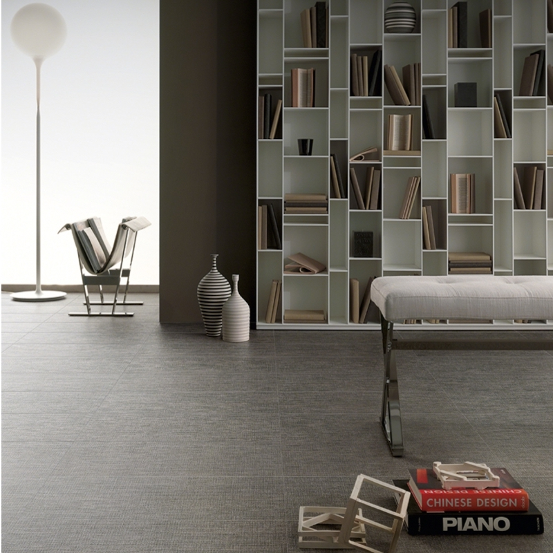 dark gray fabric tile flooring easy to clean