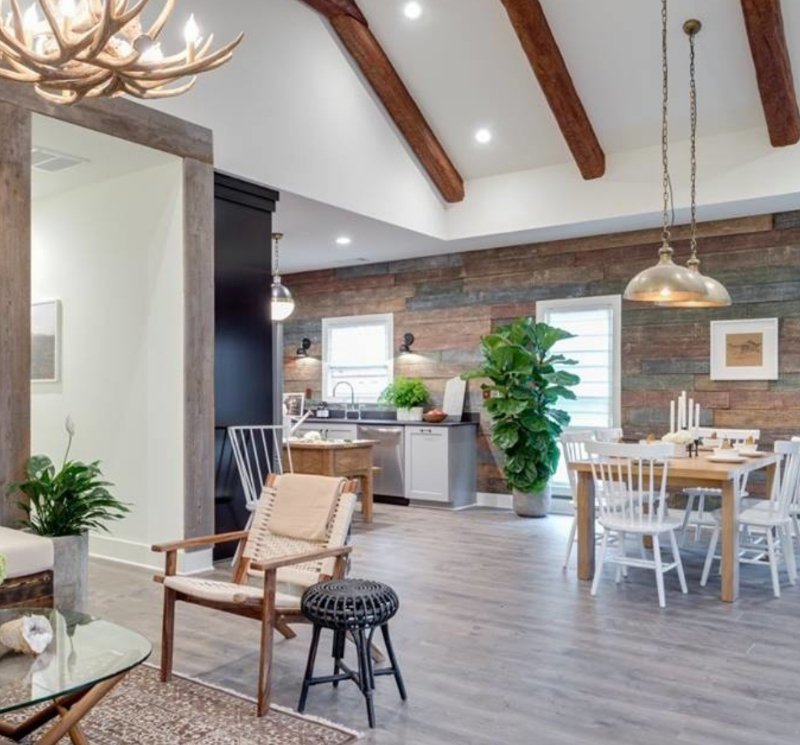 modern country living vinyl tile flooring