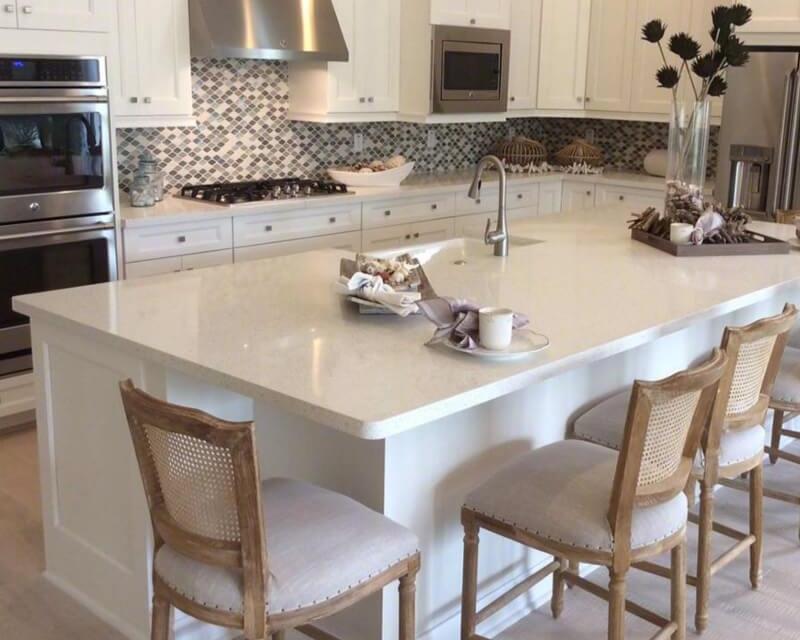 gorgeous kitchen quartz countertops