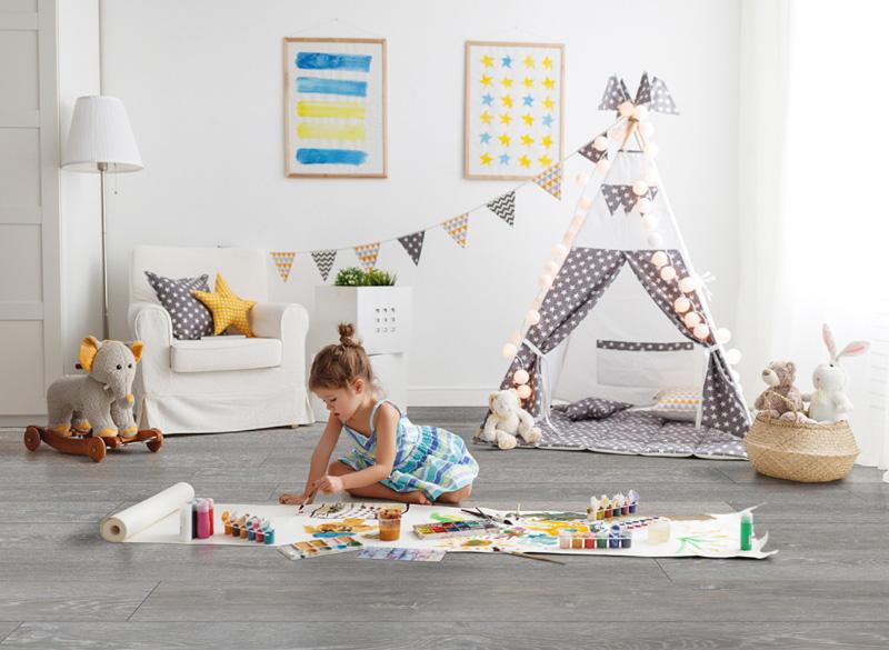 Vinyl Plank Flooring Kids Playroom