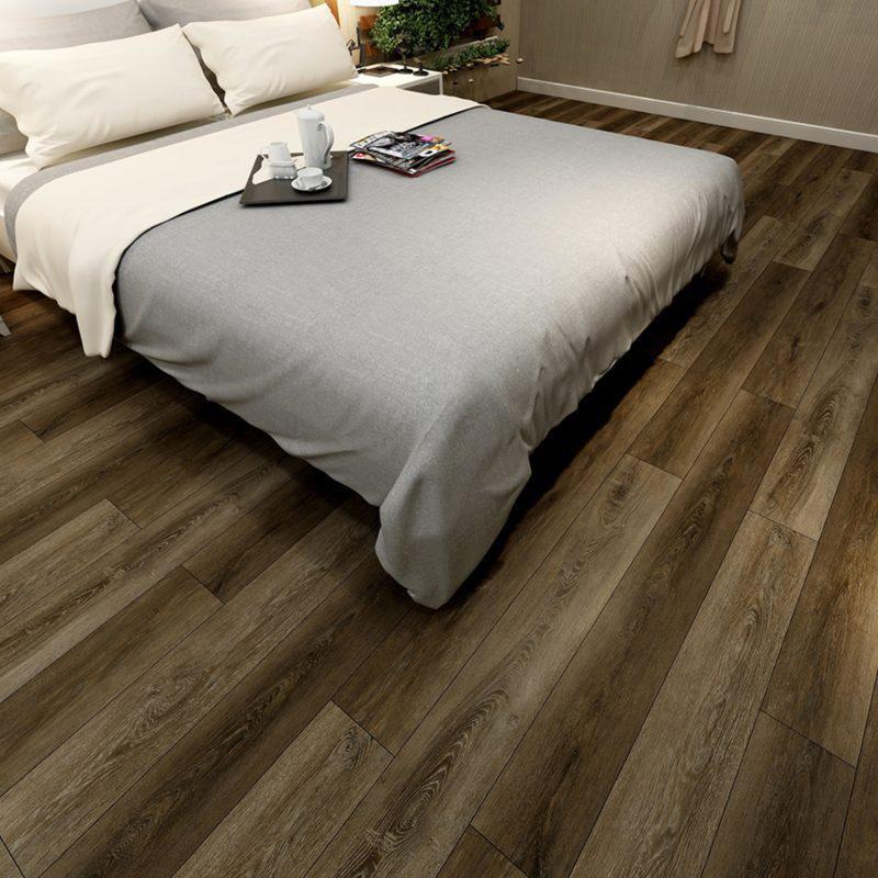 vinyl flooring in the bedroom