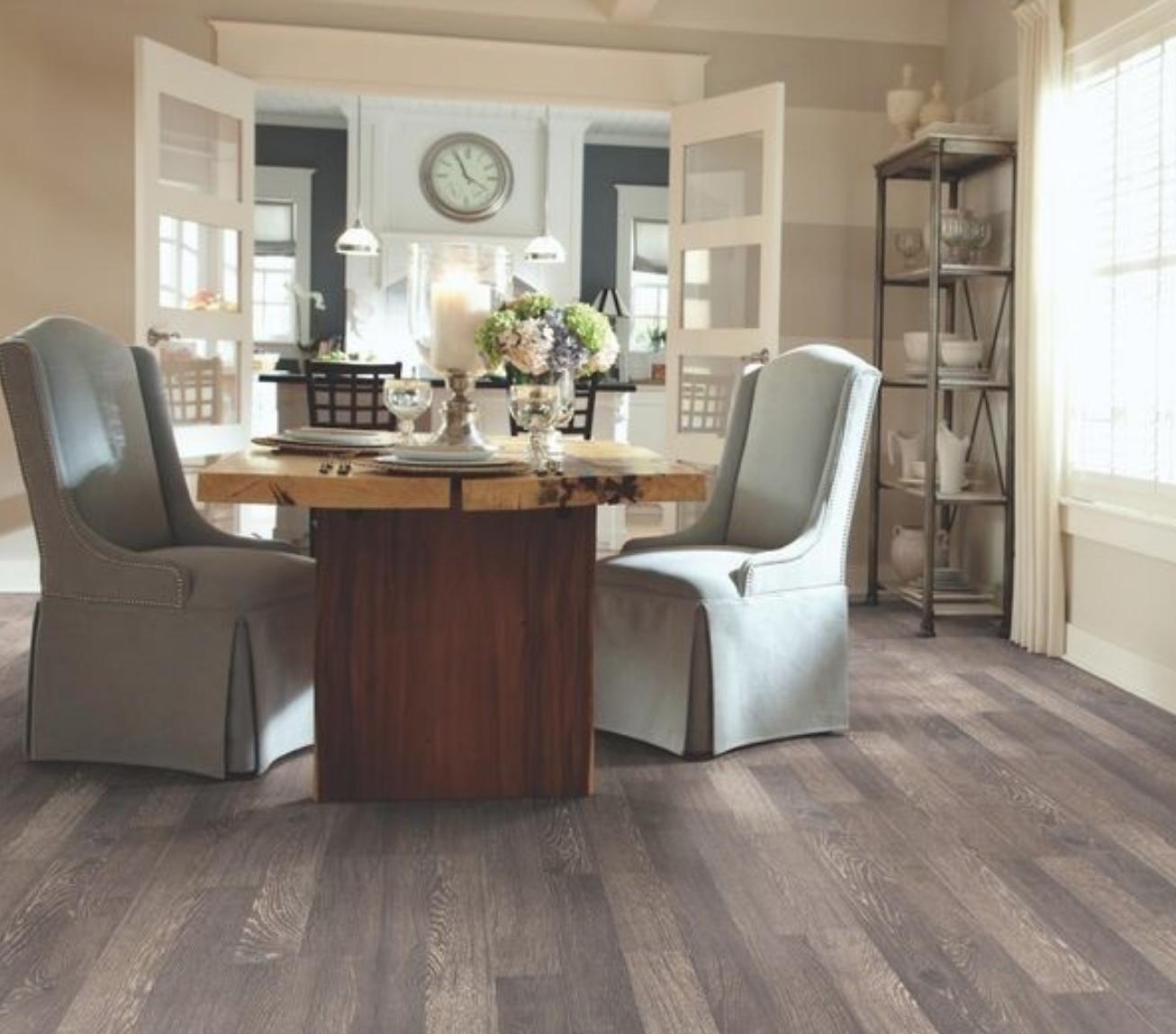vinyl tile flooring dining room