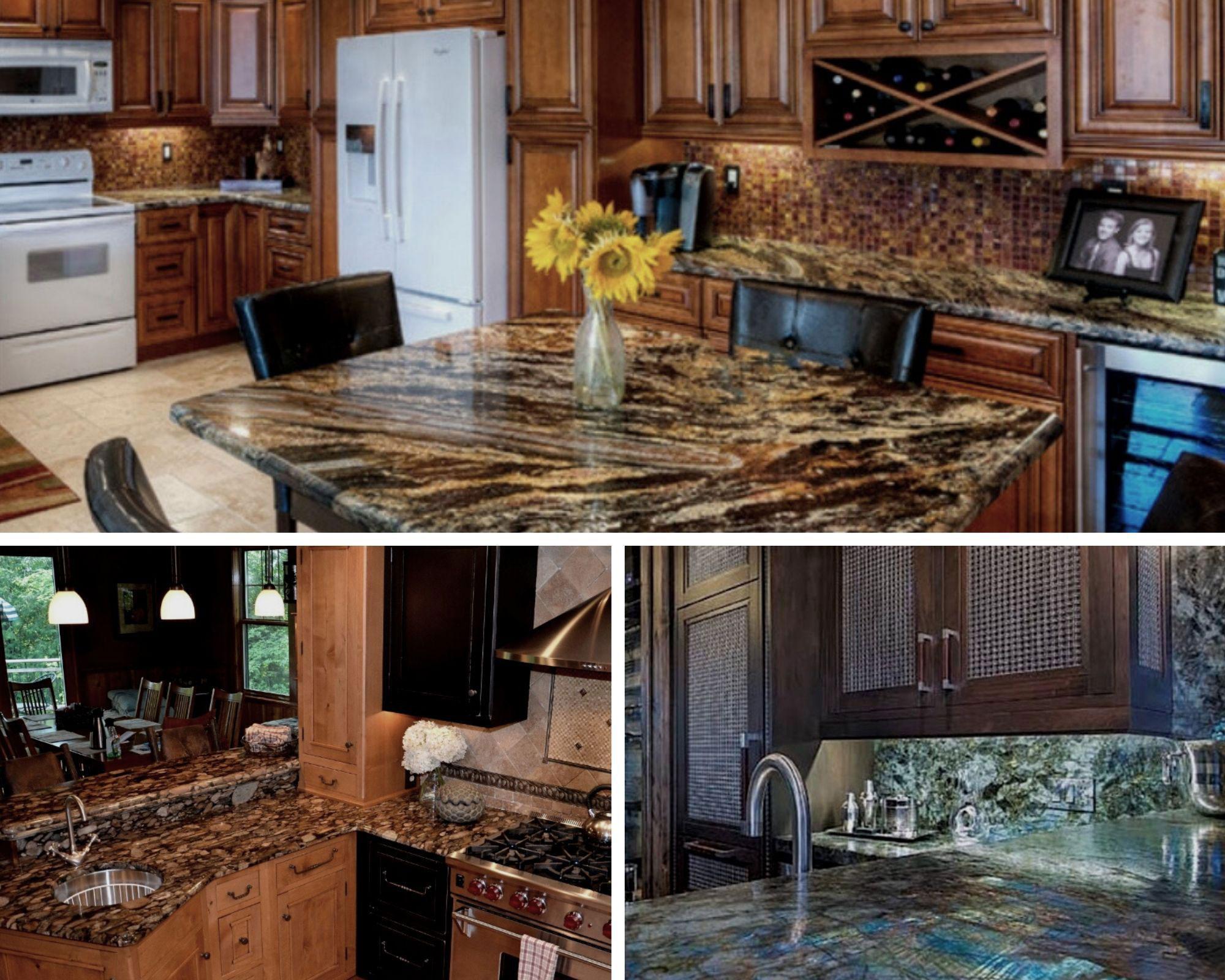 gorgeous granite kitchen counters