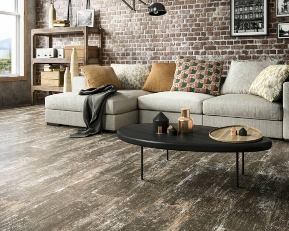 porcelain wood look flooring