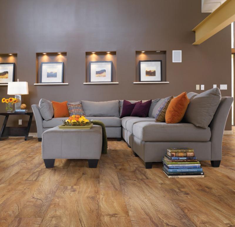 vinyl floor in living room
