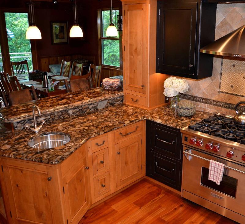 lovely granite kitchen countertop