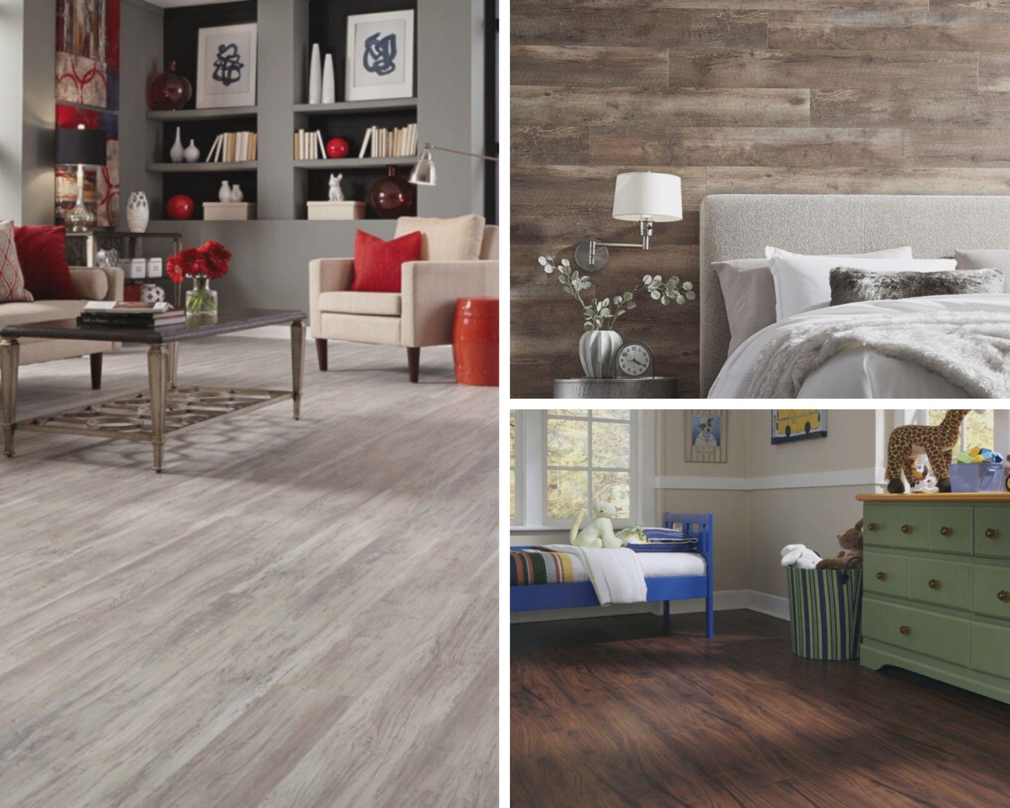 durable luxury vinyl plank tile