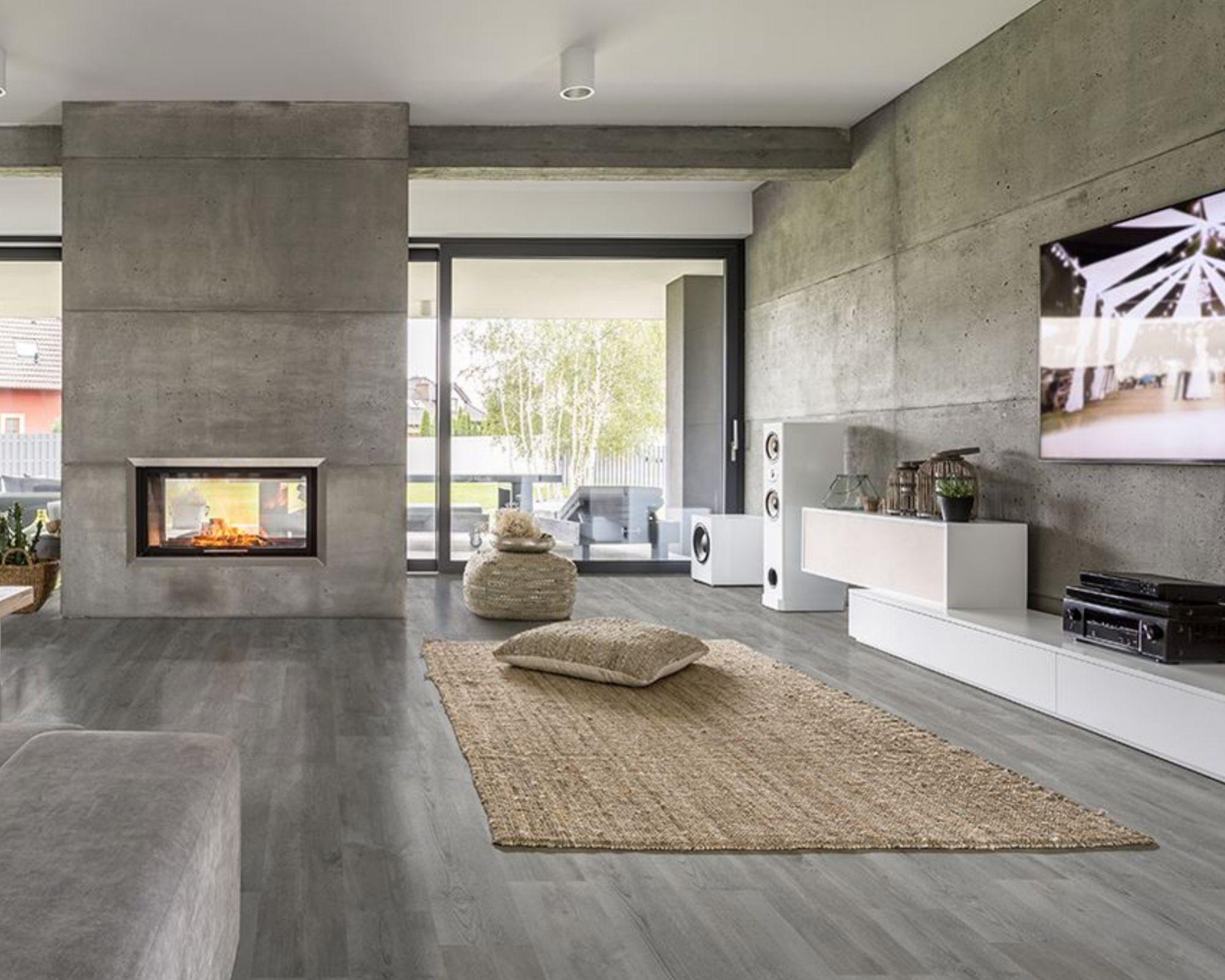 What Is Rigid Core Luxury Vinyl Flooring, Gray Vinyl Flooring Living Room