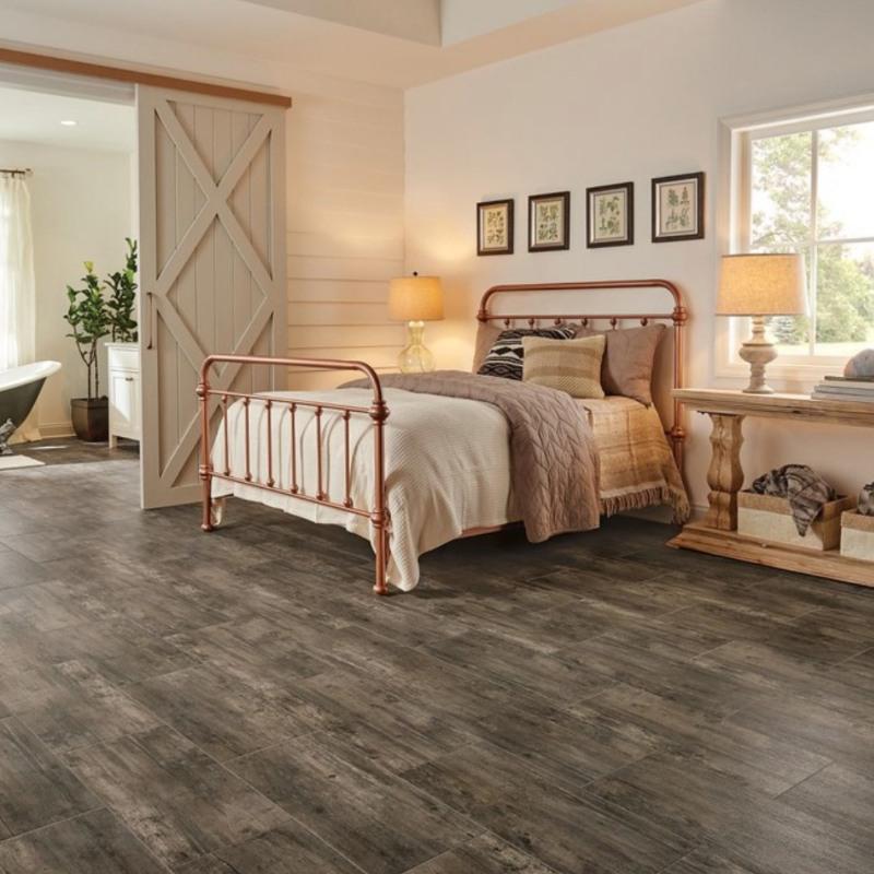 vinyl flooring in bedroom