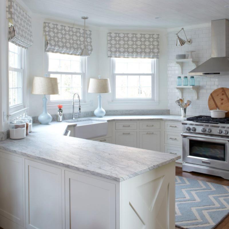 honed granite kitchen countertop