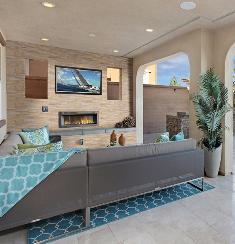 porcelain tile used outdoors