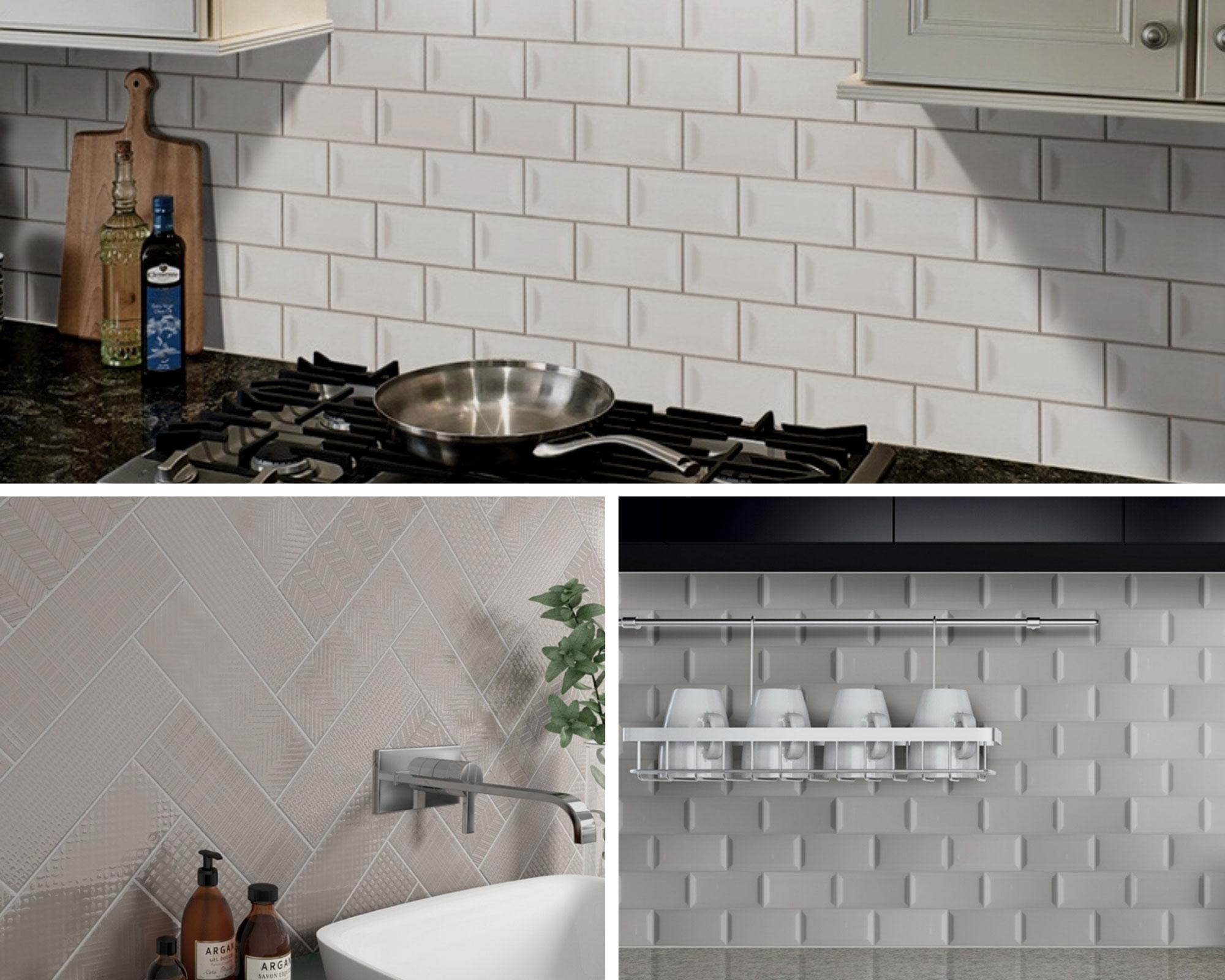 modern subway wall tile