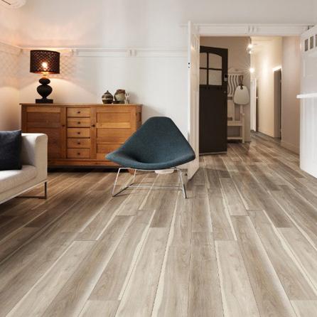 vinyl tile floors in family room