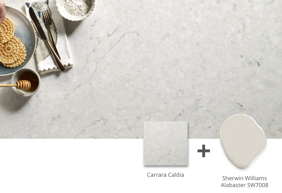 carrara caldia quartz countertop