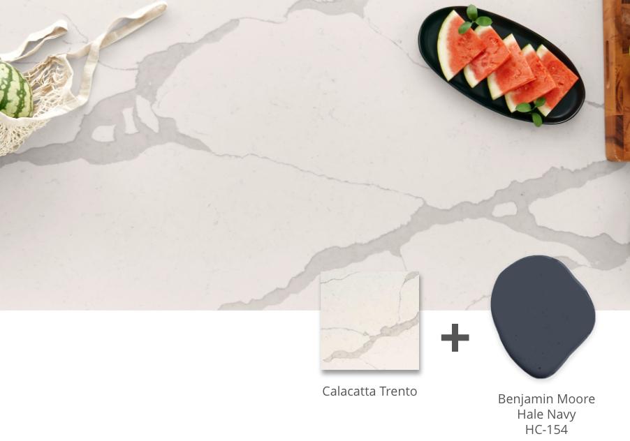 calacatta Trento quartz countertop
